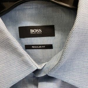 Hugo Boss Enzo Classic Long Sleeve Dress Shirt 16R